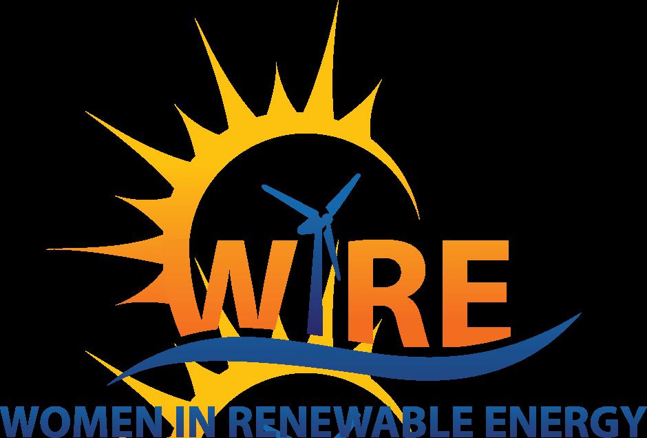 Women in Renewable Energy (WiRE) Logo