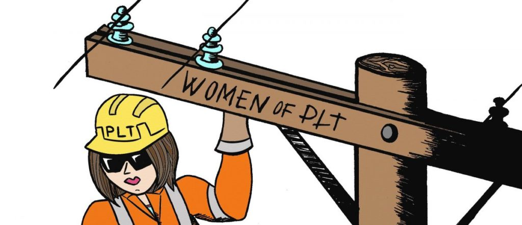 Women of PLT Logo